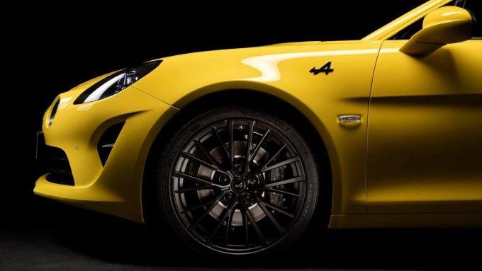 I cerchi della Alpine A110 Color Edition