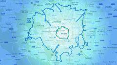 I confini di Area B: nella mappa è quella più grande
