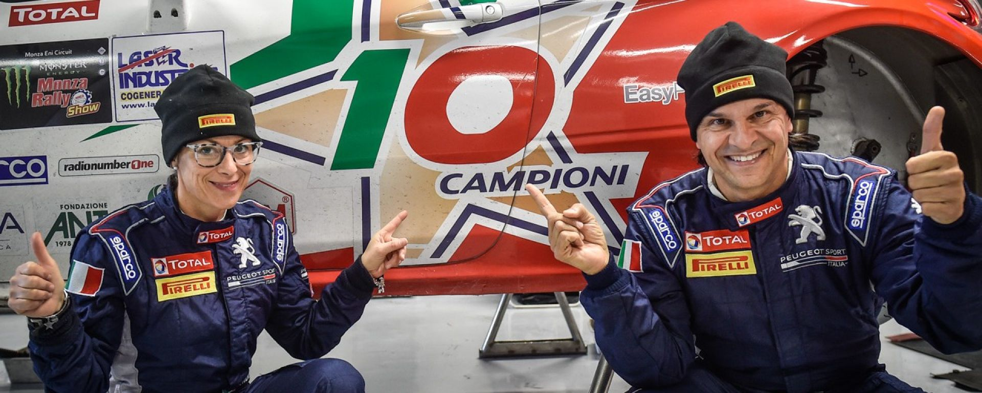 I dieci volte campioni del CIR - Andreucci e Andreussi