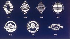 I diversi loghi Renault nel corso del tempo