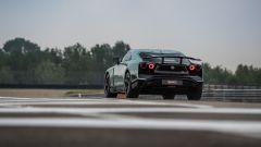 I due scarichi posteriori della Nissan GT-R50 by Italdesign