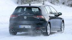 I due scarichi posteriori della Volkswagen Golf GTI 2020