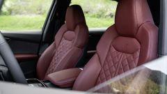 I due sedili con poggiatesta integrato di Audi SQ7
