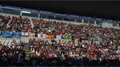 I fan della Formula Uno al circuito di Suzuka - Gran Premio Giappone