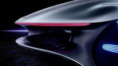 I fanali della Mercedes-Benz Vision AVTR