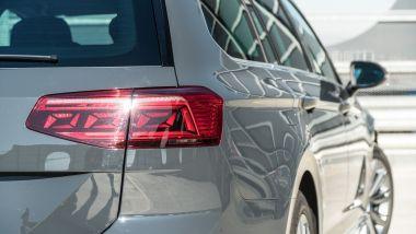 I fanali posteriori a LED di Volkswagen Passat Variant Hybrid Plug-In GTE