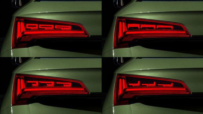 I fari OLED di Audi Q5 2021