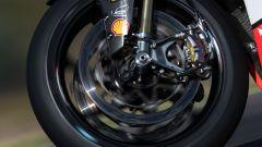 I freni Brembo montati sulla Ducati Panigale V4 R SBK di Davies e Redding