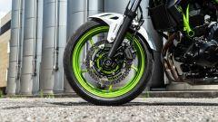 I freni della Kawasaki Z650 2021