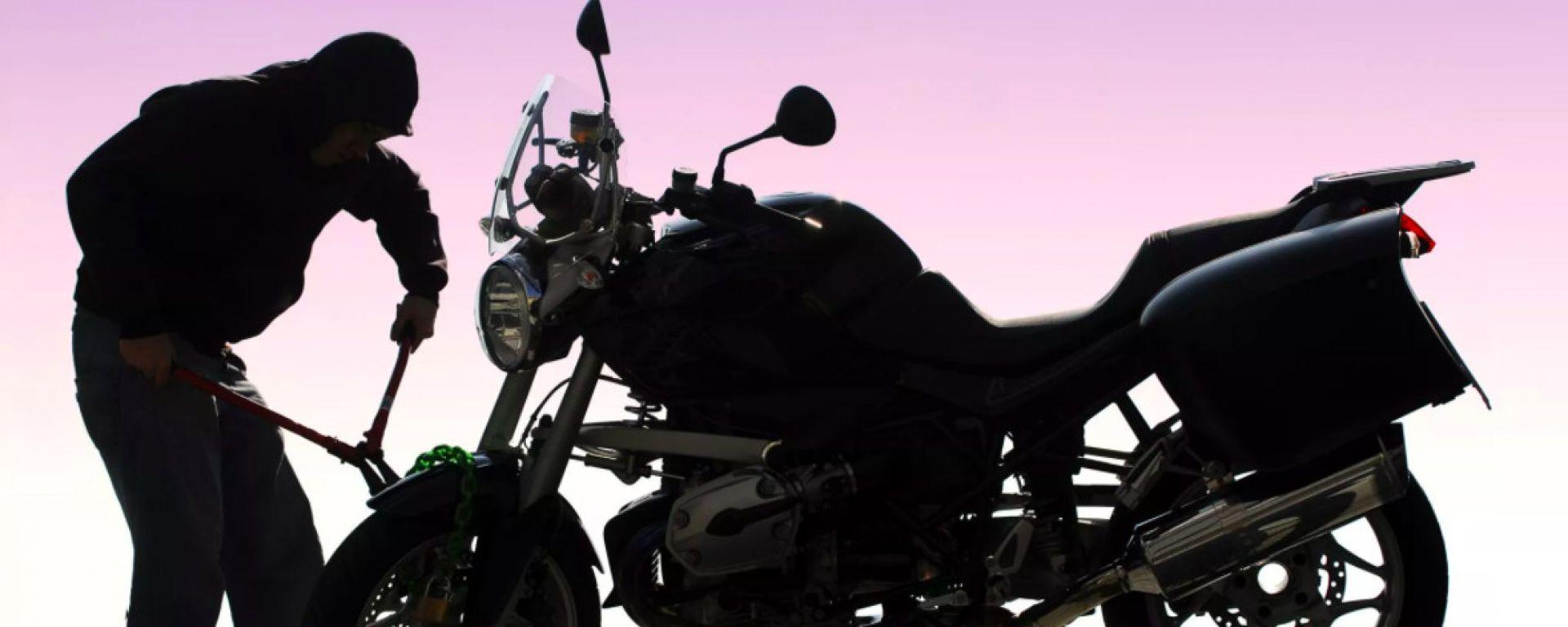 I furti moto sono in continua diminuzione in Italia
