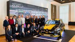 Renault Clio Cup, presentata la Press League. C'è anche Motorbox
