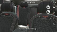 I lussuosi sedili della Bentley Flying Spur