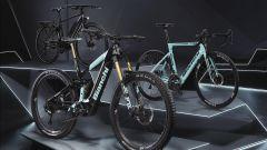 I modelli della gamma Lif-E di Bianchi: Spillo, T-Tronik e Aria