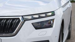 I nuovi fari LED di Skoda Kamiq