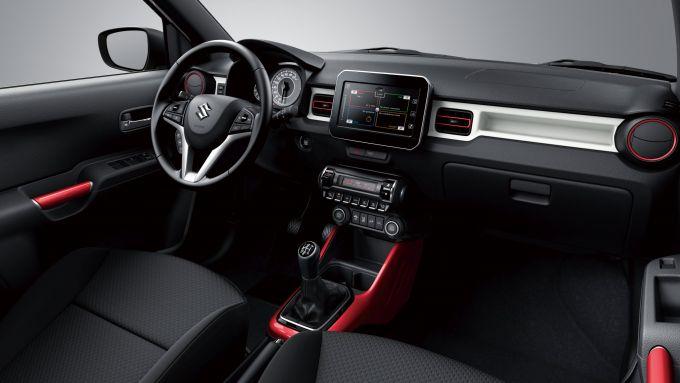 I nuovi interni di Suzuki Ignis Hybrid 2020