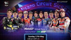 Virtual MotoGP: sfida Rossi-Marquez a Misano
