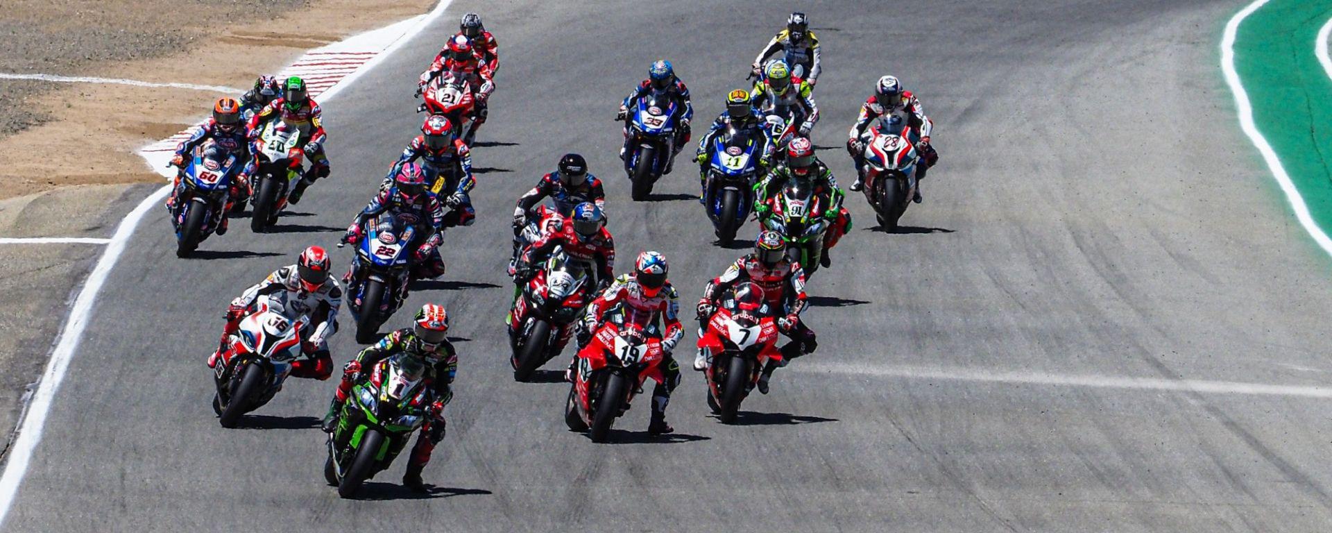 I piloti della classe Superbike 2019 a Laguna Seca 2019