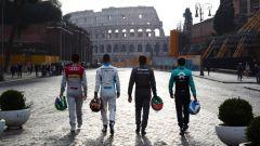 I piloti di Formula E e la sfida rappresentata dal circuito della Città Eterna