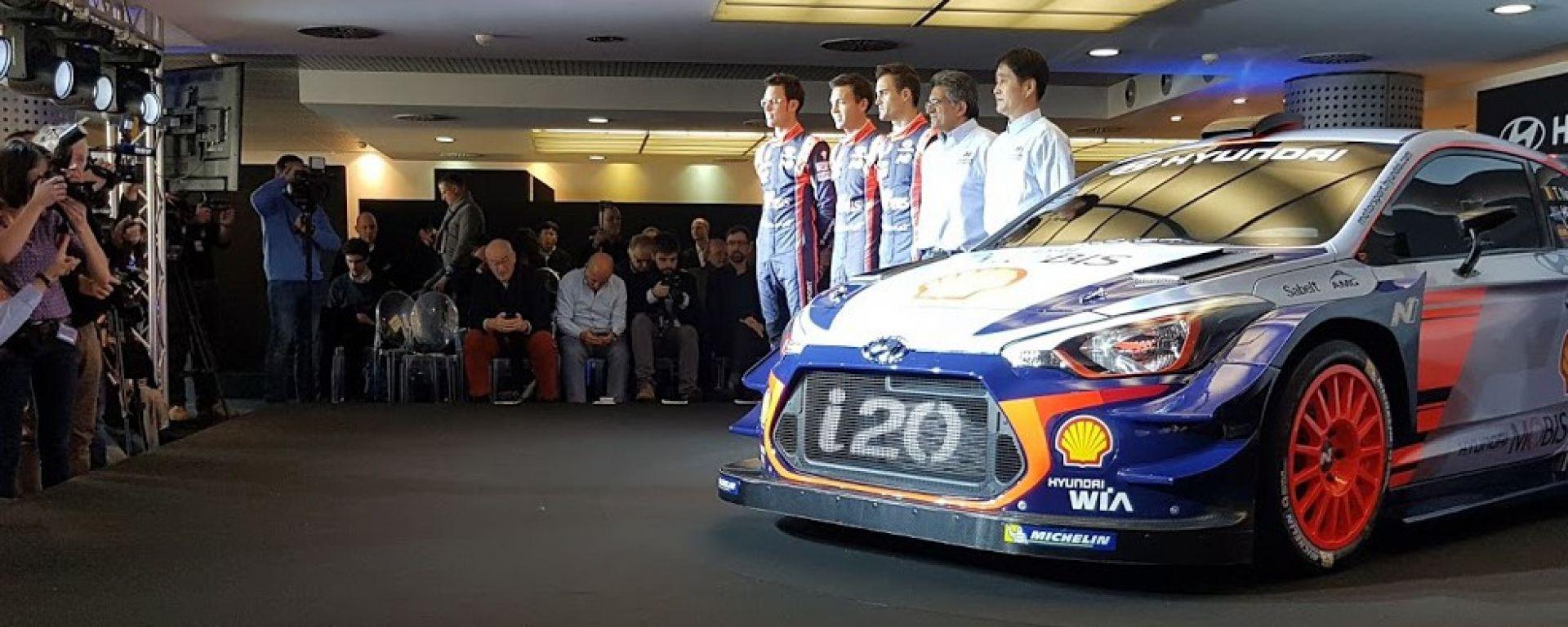 I piloti Hyundai Motorsport
