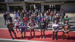 Test Barcellona, tanti piloti MotoGP in pista con moto private