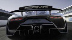 I prominenti scarichi della Mercedes-AMG One