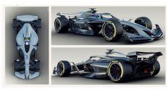 I rendering F1 2021 presentati la scorsa stagione da Liberty Media
