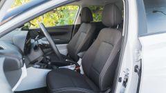I sedili anteriori della Hyundai i20 1.0 T-GDi mild hybrid