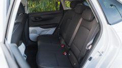 I sedili posteriori della Hyundai i20 1.0 T-GDi mild hybrid