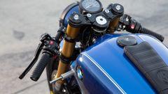 I semimanubri della BMW R 18 Dragster by Roland Sands