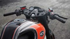 I semimanubri della KTM RC 250 Café Racer by Minority Custom Motorcycles
