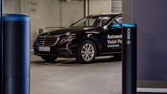 I sensori Bosch nel parcheggio autonomo del Museo Mercedes-Benz