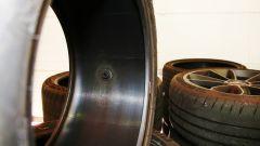 I sensori sono posti all'interno dello pneumatico - Michelin Track Connect