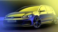 I teaser della nuova Volkswagen Golf GTI TCR, l'erede della Clubsport