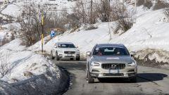 I test invernali promossi da Assogomma - il test su strada con le Volvo