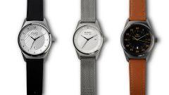 I tre orologi Armand Peugeot