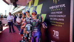 I tre più veloci in prova del GP Catalunya 2019 MotoGP: Marquez, Quartararo e Vinales