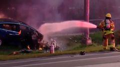 I vigili del fuoco americani sembrano impreparati agli incendi delle auto elettriche