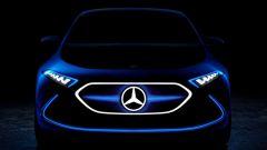 Francoforte 2017, Mercedes EQ A Concept: il futuro SUV elettrico