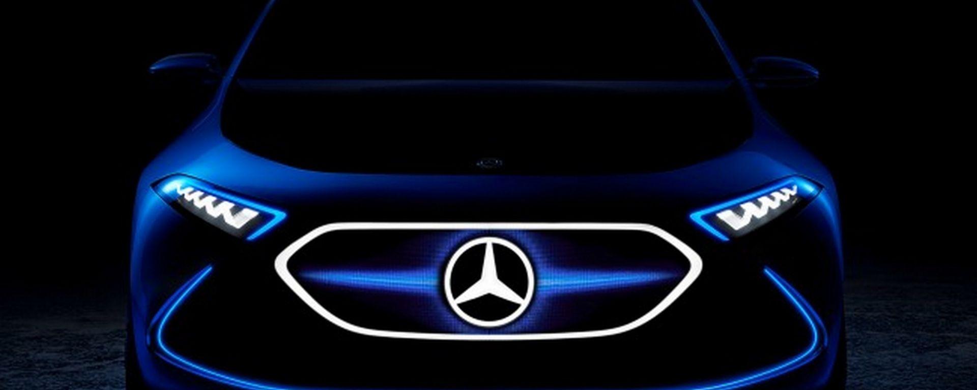 IAA 2017, Mercedes EQ A Concept: il futuro SUV elettrico