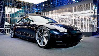 IAA 2021, Hyundai presenta il prototipo Prophecy (da cui arriverà la Ioniq 6)