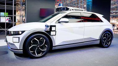 IAA 2021, Hyundai presenta il suo robotaxi basato su Ioniq 5
