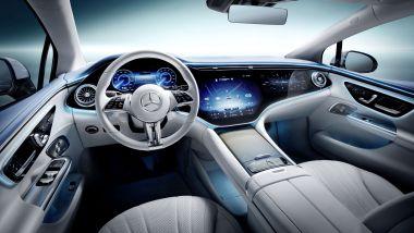 IAA 2021: Mercedes EQE, il posto guida