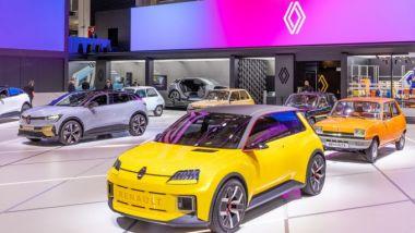 IAA 2021: nello stand Renault la R5 elettrica, il ritorno di un'icona ma in chiave a zero emissioni