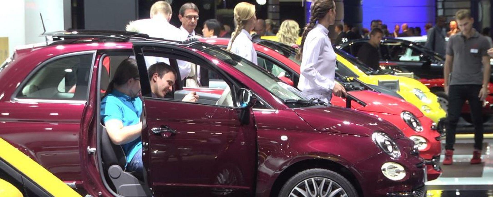 IAA Francoforte 2015: la gamma Fiat 500