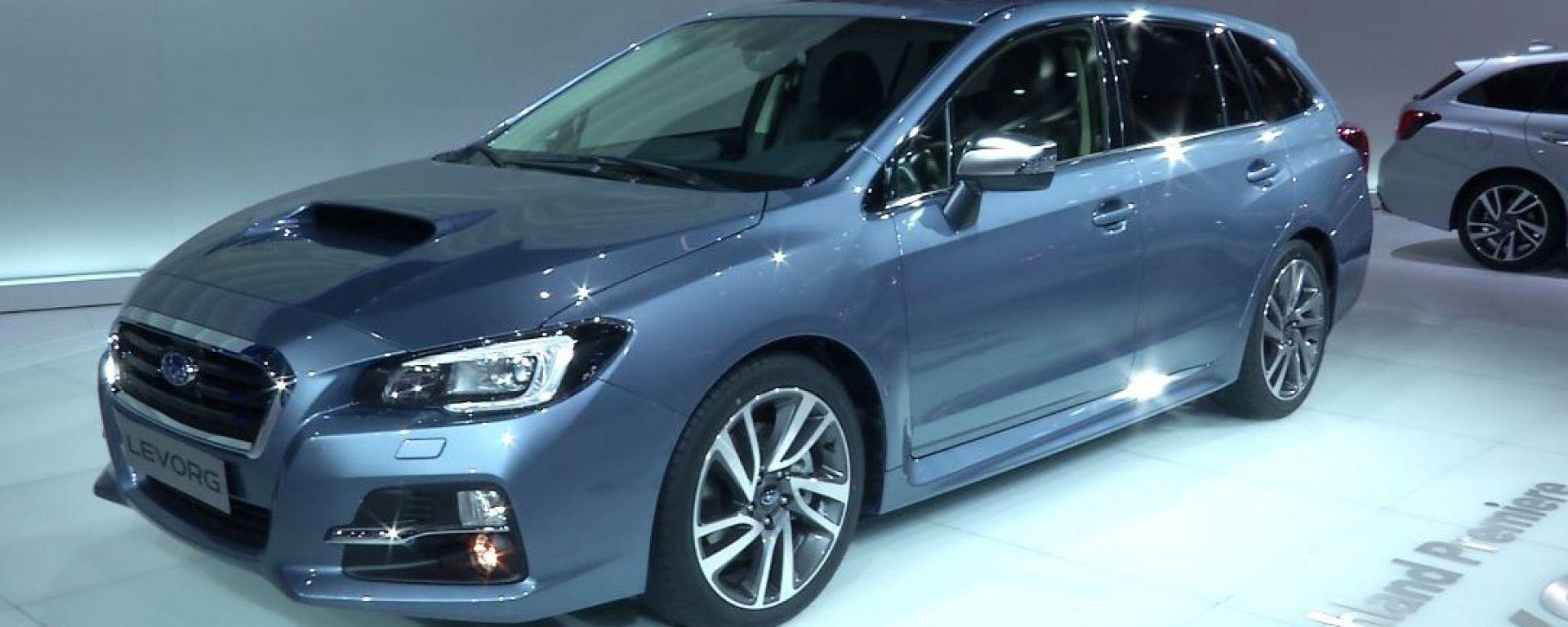 IAA Francoforte 2015: la Subaru Levorg