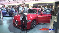 IAA Francoforte 2015: l'Alfa Romeo Giulia Quadrifoglio Verde - Immagine: 5