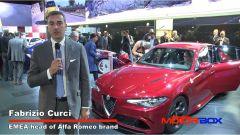 IAA Francoforte 2015: l'Alfa Romeo Giulia Quadrifoglio Verde - Immagine: 8