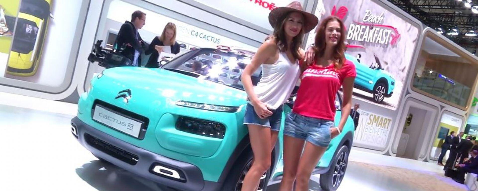 IAA Francoforte 2015: le novità Citroën