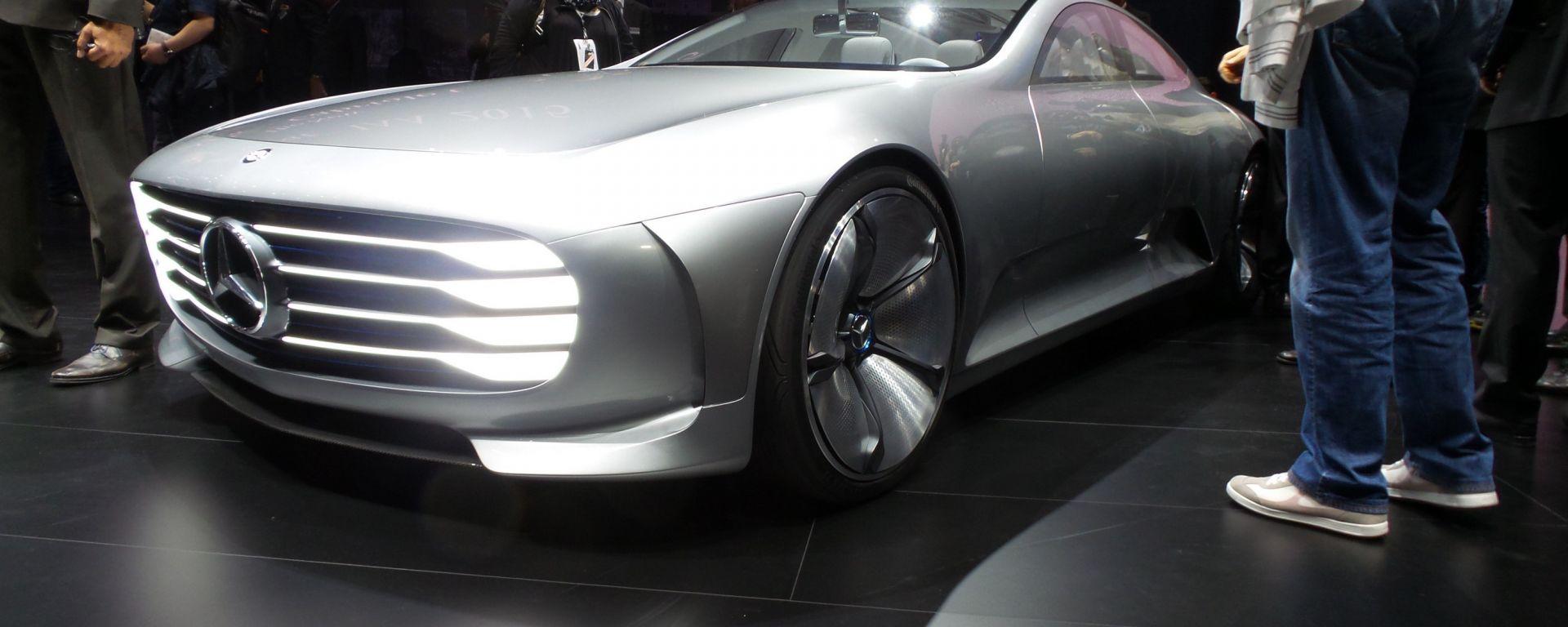 IAA Francoforte 2015: le novità Mercedes e Smart
