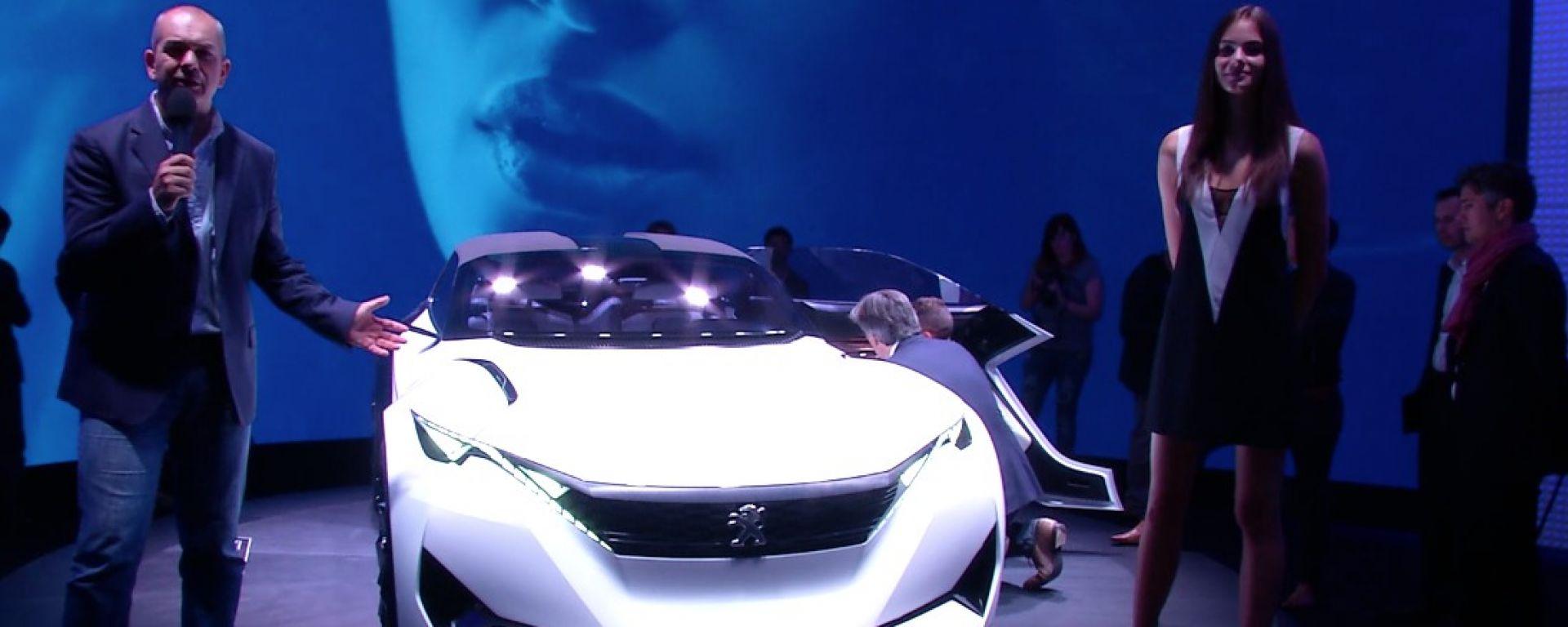 IAA Francoforte 2015: le novità Peugeot